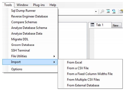 Easy methods to Import data using Aginity - DWgeek com