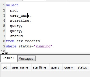 Resolution: Amazon Redshift Drop and Truncate Table Running Slow