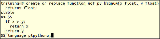 Redshift User Defined Functions Examples - DWgeek com
